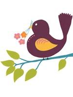 Cute Bird IV Framed Print