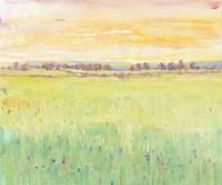 Spring Pasture II Framed Print