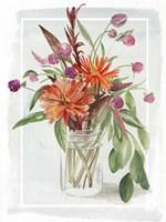 Summer Wildflowers I Framed Print