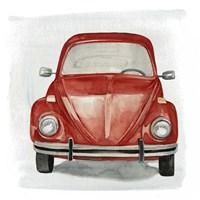Classic Autos I Fine Art Print
