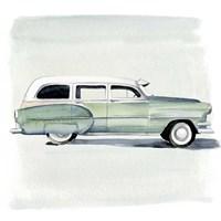 Classic Autos III Framed Print