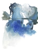 Glacier Melt I Framed Print