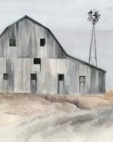 Winter Barn I Fine Art Print