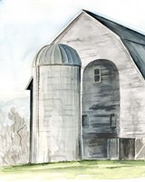 Weathered Barn I Fine Art Print