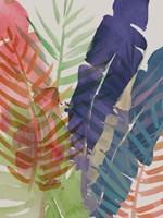 Electric Palms I Framed Print