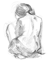 Sitting Pose I Fine Art Print