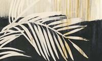 Golden Raffia I Framed Print