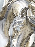 Horse Abstraction I Fine Art Print