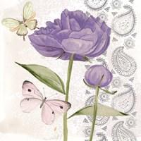 Flowers & Lace IV Fine Art Print