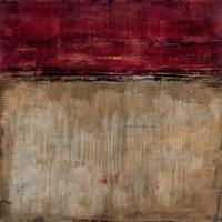 Pompeian Red Fine Art Print