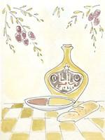 Olio della Cucina I Fine Art Print