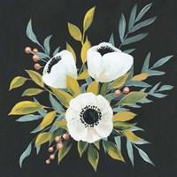 Anemone Posy I Framed Print