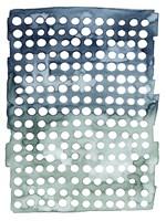 Morse Dots II Framed Print