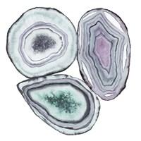 Geode Gems I Framed Print