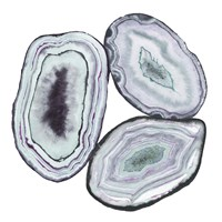 Geode Gems II Framed Print