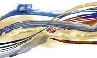 Soundwaves II Framed Print