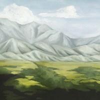 Deep Valley I Framed Print