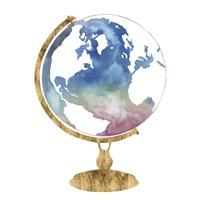Adventure Globe I Framed Print