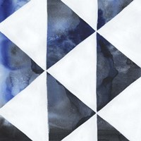 Blue Screen III Framed Print