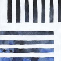 Blue Screen IV Framed Print