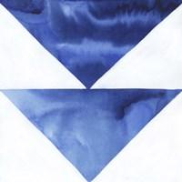 Blue Screen VI Framed Print