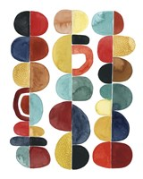 Midcentury Sunrise II Fine Art Print