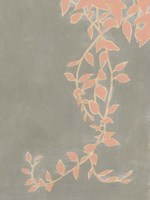 Coral Pothos II Framed Print