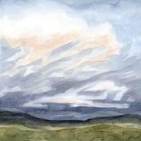 Windswept Horizon II Framed Print