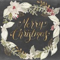 Gilded Christmas I Fine Art Print
