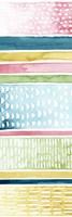 Pastel Strata I Framed Print