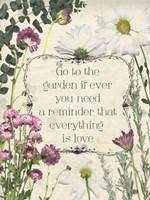 Pressed Floral Quote II Fine Art Print