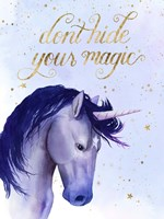 Unicorn Universe  II Fine Art Print