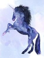 Unicorn Universe  IV Framed Print