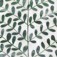 Emerald Palm II Framed Print