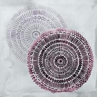 Berry Mandalas I Framed Print