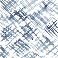 Indigo Ripple VIII Framed Print