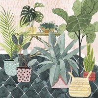 Modern Jungle I Framed Print