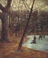 Skaters, 1884-85 Fine Art Print
