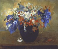 Vase of Flowers, 1896 Fine Art Print
