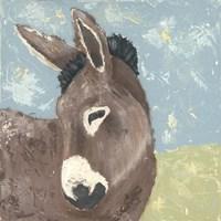 Farm Life-Donkey Fine Art Print