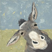 Farm Life-Mule Fine Art Print