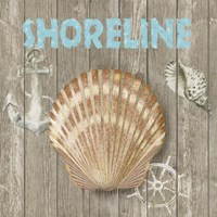 High Tide Shoreline II Framed Print