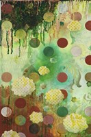 Floating Jade Garden I Fine Art Print