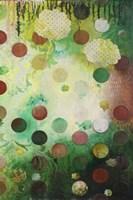 Floating Jade Garden II Fine Art Print