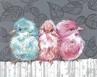 Bird Trio I Fine Art Print