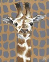 Animal Patterns I Framed Print