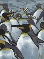 Colony of Penguins II Fine Art Print