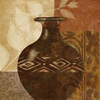 Ethnic Vase III Fine Art Print