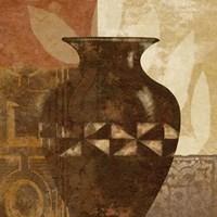 Ethnic Vase IV Fine Art Print