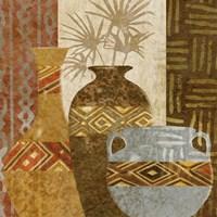 Ethnic Vase V Framed Print